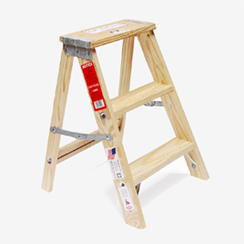 "Wood Step Ladder ""Size 2″"