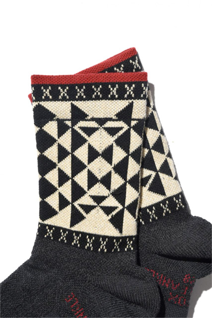 Support Pile Ankle -NATIVE BLACK-