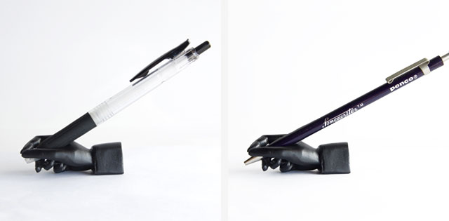 "Writing Hand Pen Stand ""Black"""